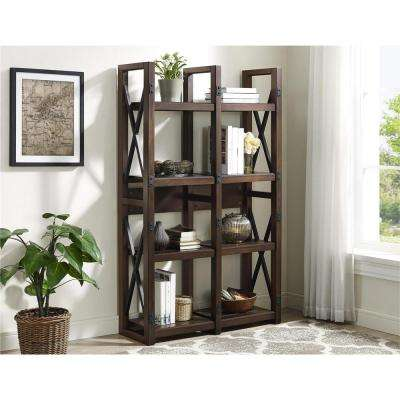 Wildwood Mahogany Open Bookcase