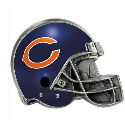 Chicago Bears Helmet Hitch Cover