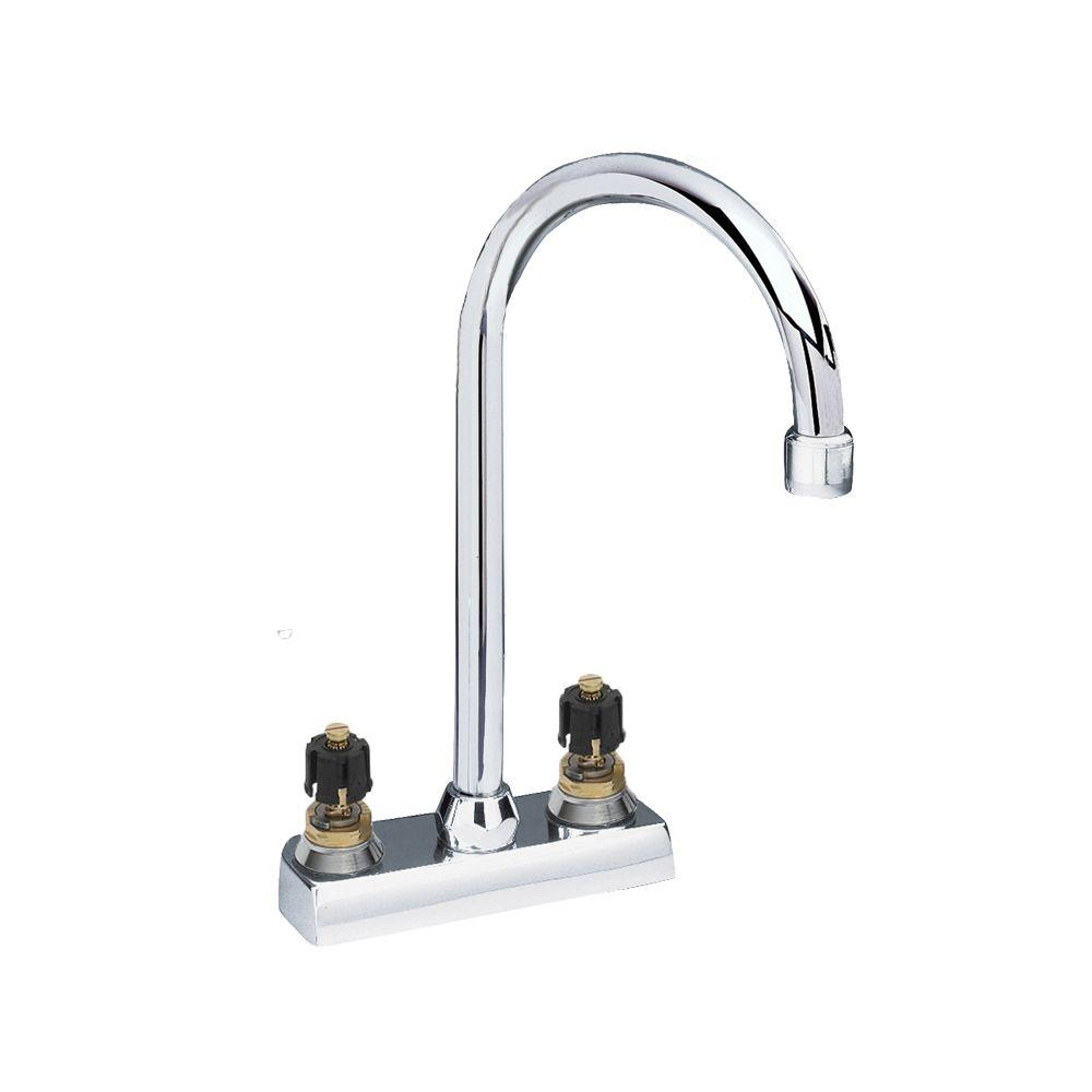 American Standard Heritage 2-Handle Bar Faucet in Polished Chrome