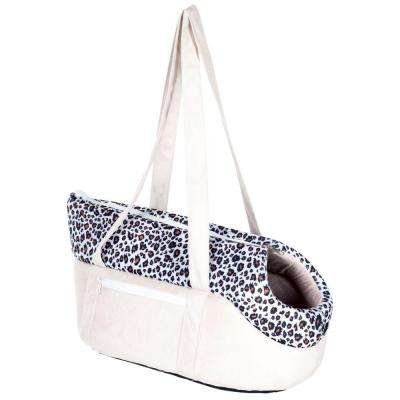 Tan/Leopard Cozy Cat Travel Pet Carrier