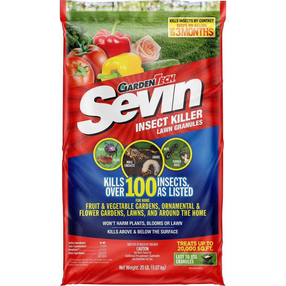 Sevin 20 lbs. Garden Insect Granules Killer
