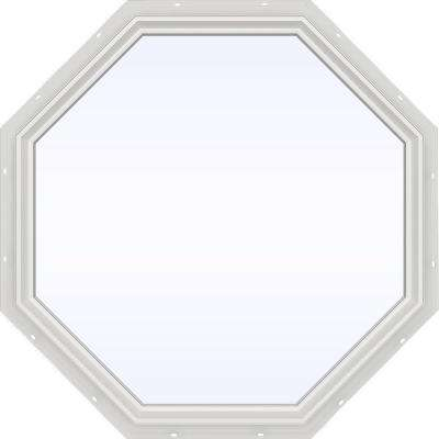 V-2500 Series Fixed Octagon Vinyl Window