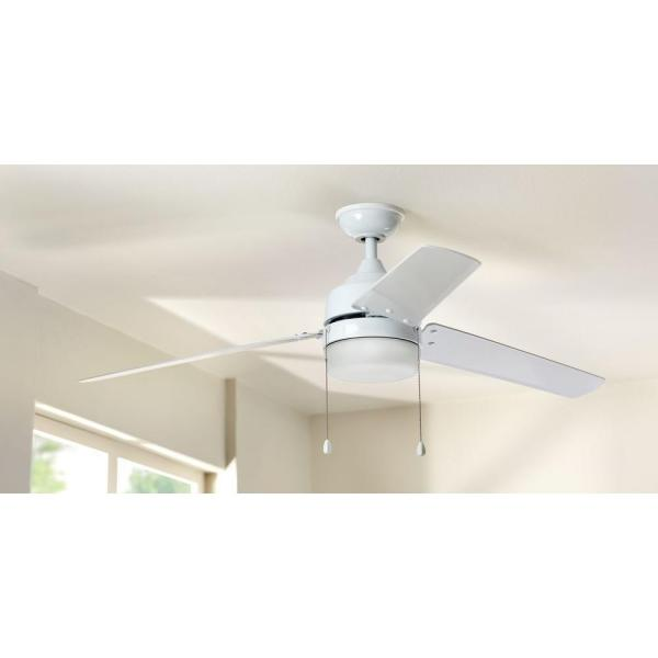 Home Decorators Carrington 60 In Indoor Outdoor White Ceiling Fan Parts