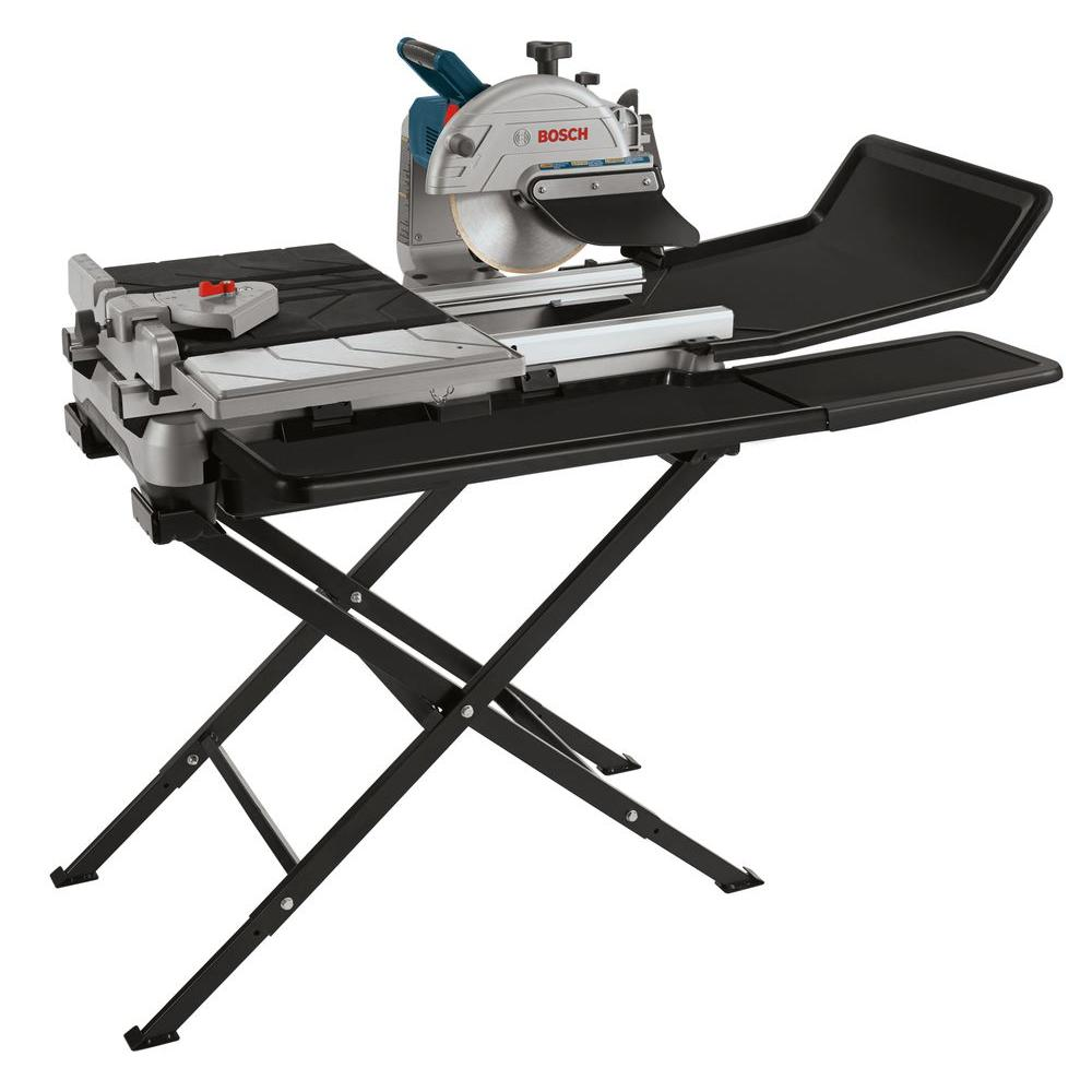 Bosch In Wet Tile And Stone Saw With Folding StandTC The - Bosch tile saw for sale