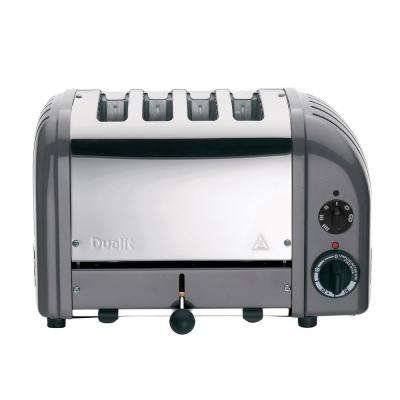 NewGen 4-slice Cobble Gray Toaster