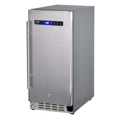 15 in. 56-Bottle Wine and 90-Can Under-Counter Beer Beverage Cooler