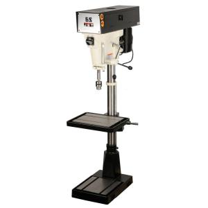 JET 1 HP 15 inch Floor Standing Drill Press, 6-Speed, 115/230-Volt, J-A3816 by JET