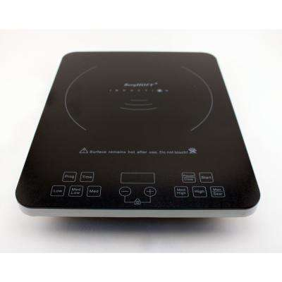Touch Screen Black 1-Element 13 in. Induction Cooktop
