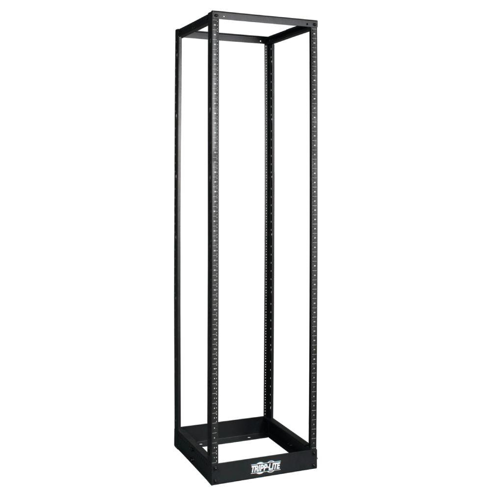 Tripp Lite 45U 4-Post Open Frame Rack Cabinet Square Holes 1000 lb. Capacity