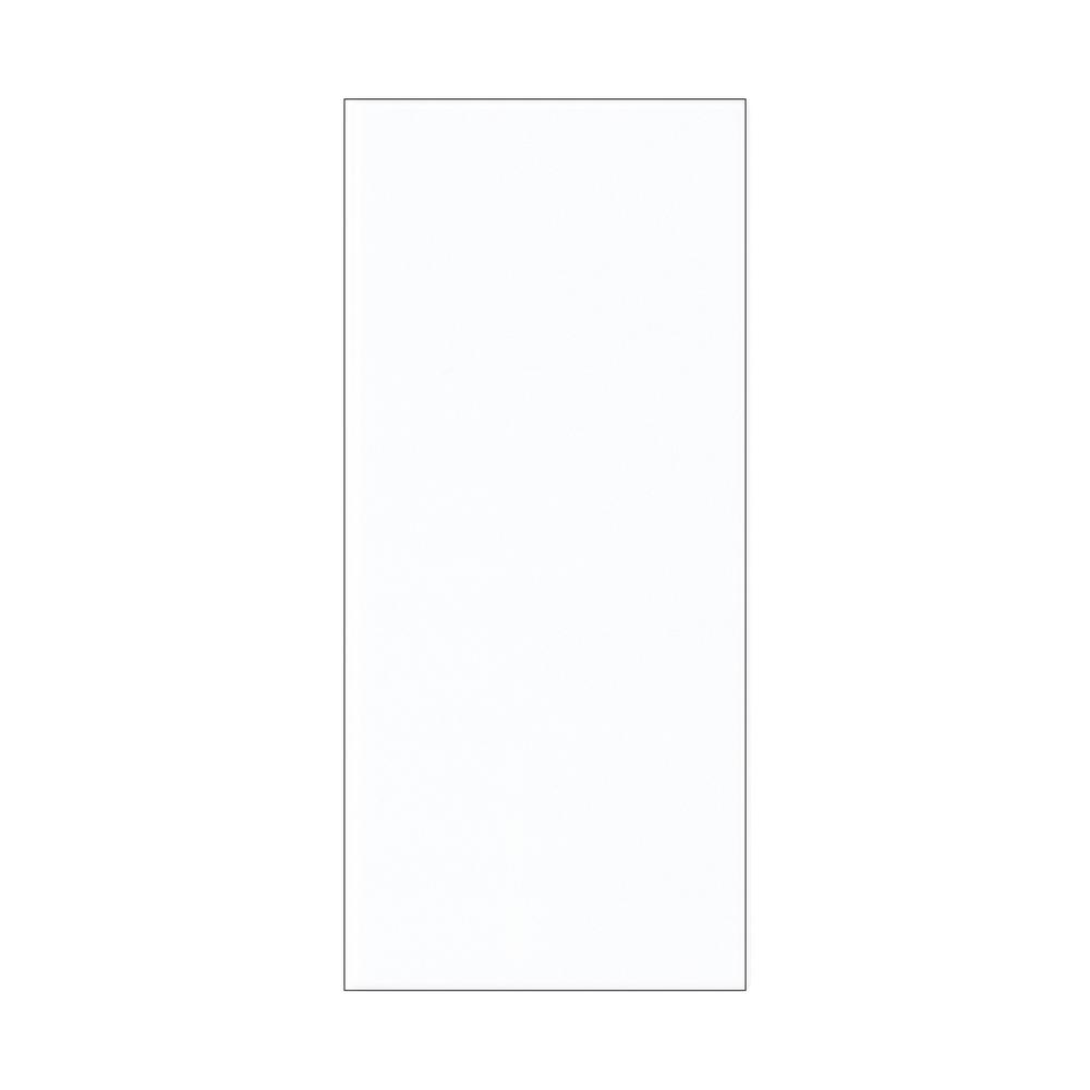 Address Light Collection White Plastic Tile
