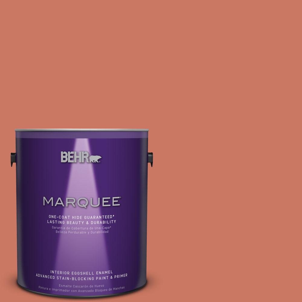 BEHR MARQUEE 1 gal. #MQ4-33 Aloe Blossom One-Coat Hide Eggshell Enamel Interior Paint