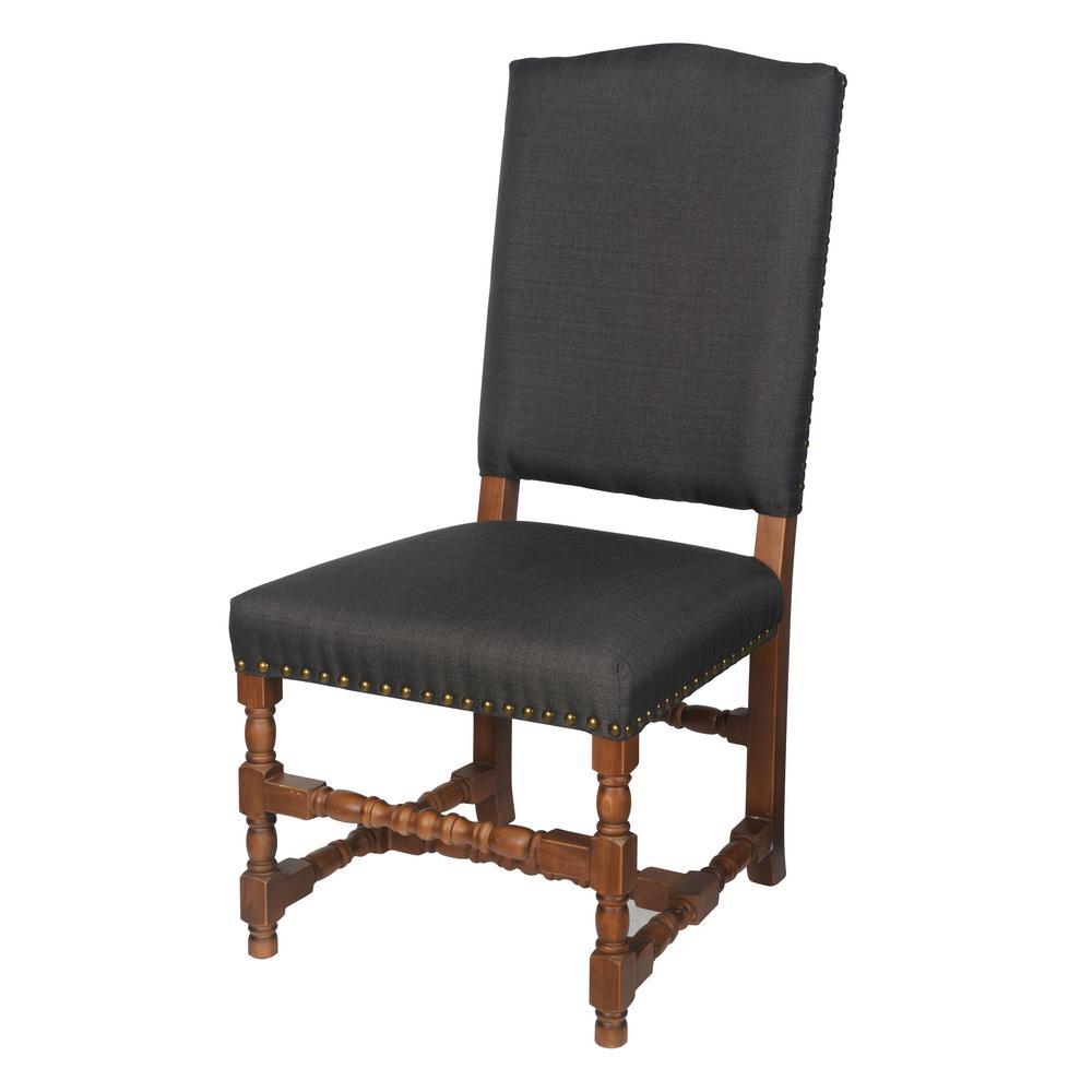 Alba Black Rubberwood Chair