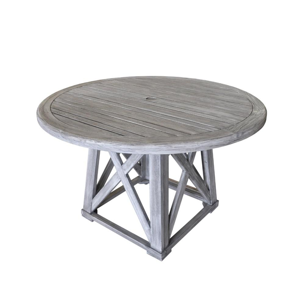 Courtyard Casual Surf Side Collection Teak Outdoor Round