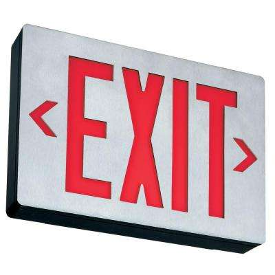 Aluminum LED Emergency Exit Sign