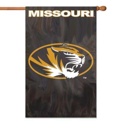 Missouri Tigers Applique Banner Flag