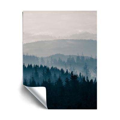 """Blue Mountains II"" Landscapes Removable Wall Mural"