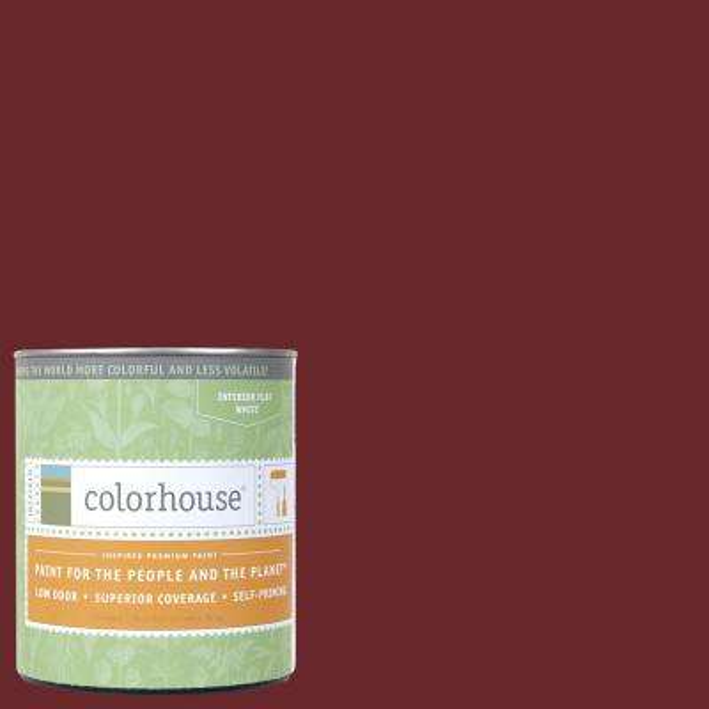 1 qt. Wood .04 Flat Interior Paint