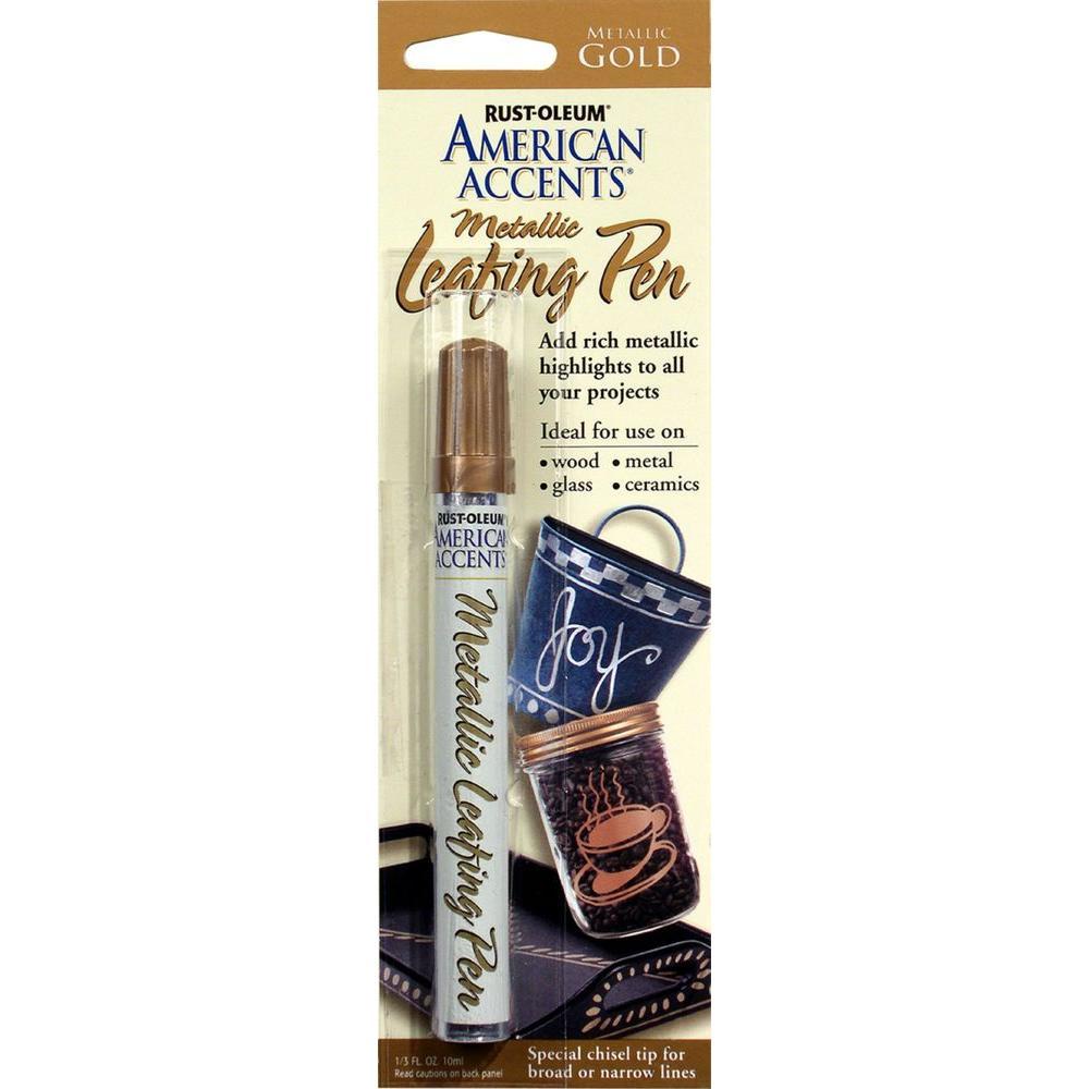 Gold Metallic Leafing Pen (6-Pack)