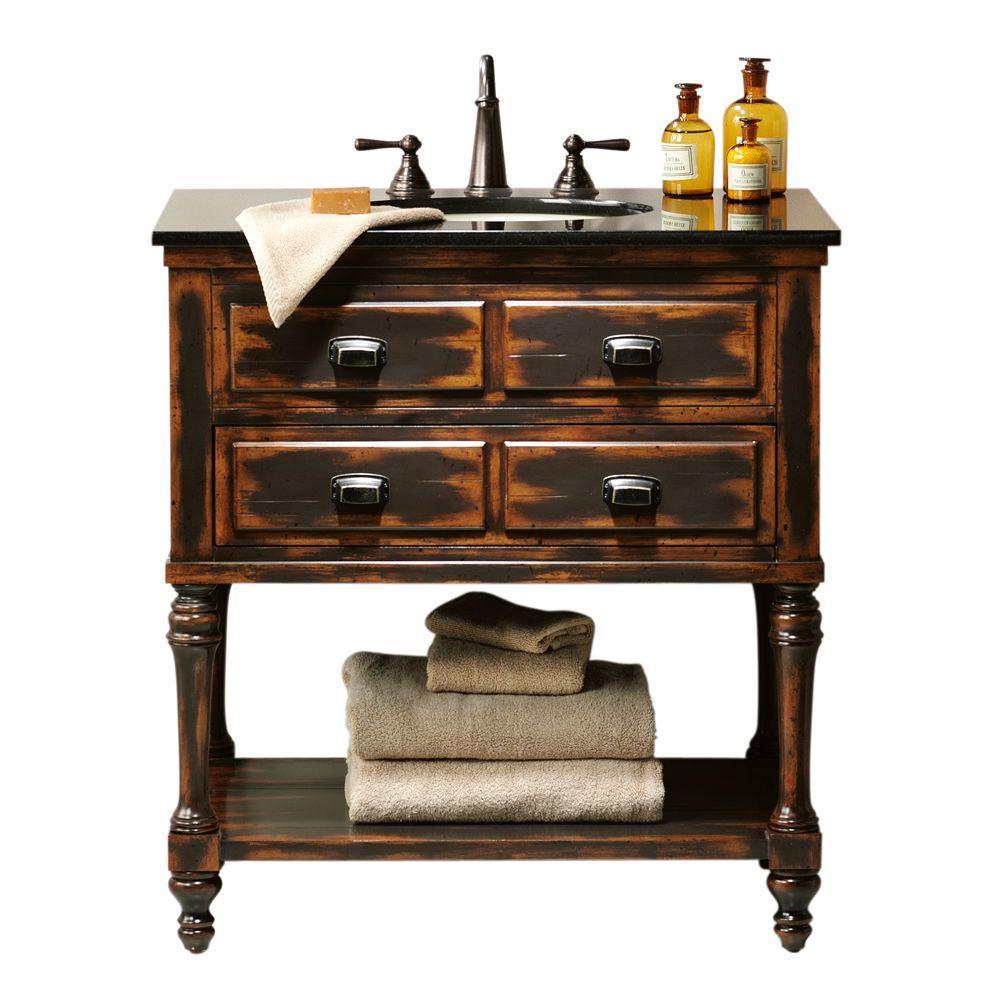 Home Decorators Collection Benton Park 32 in. W x 20 in. D Vanity in Antique