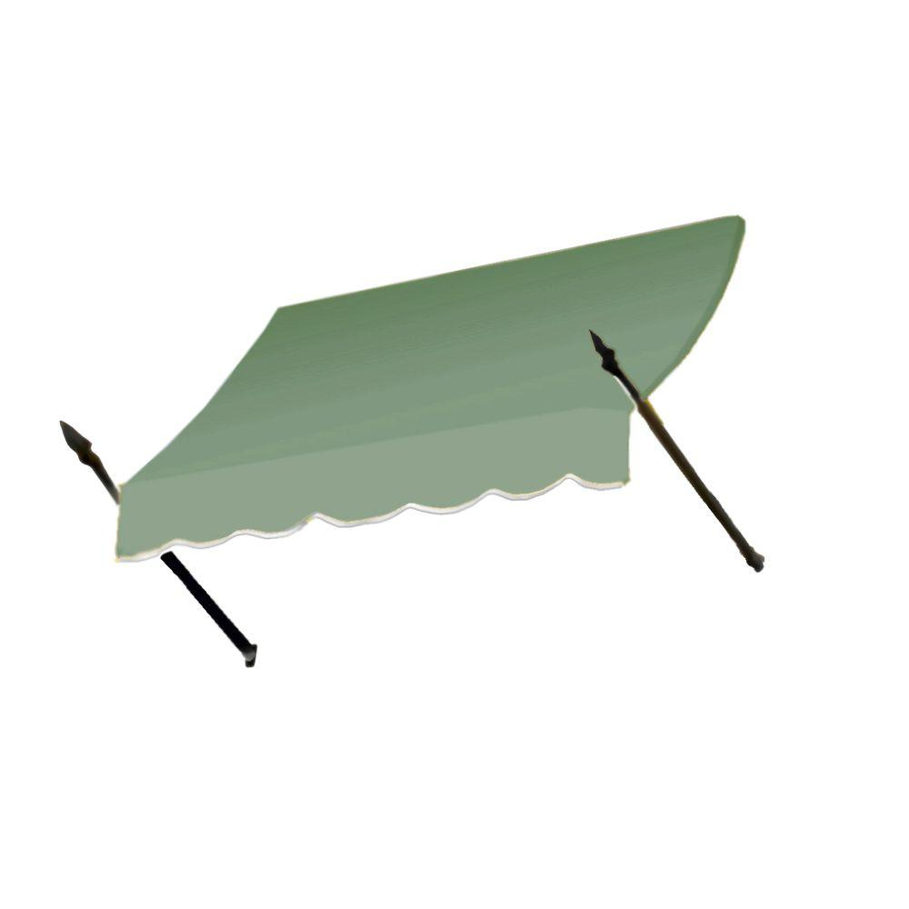 AWNTECH 50 ft. New Orleans Awning (44 in. H x 24 in. D) in Sage