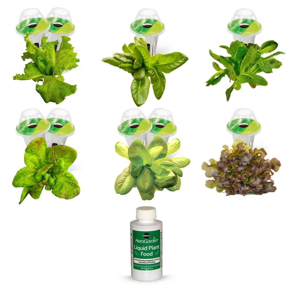AeroGarden Heirloom Salad Greens Seed Pod Kit (9-Pod)