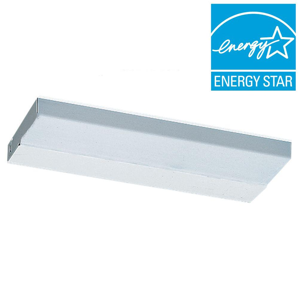 Sea Gull Lighting Undercabinet 1-Light White Fluorescent Task Light Fixture  sc 1 st  Home Depot : seagull led under cabinet lighting - Cheerinfomania.Com