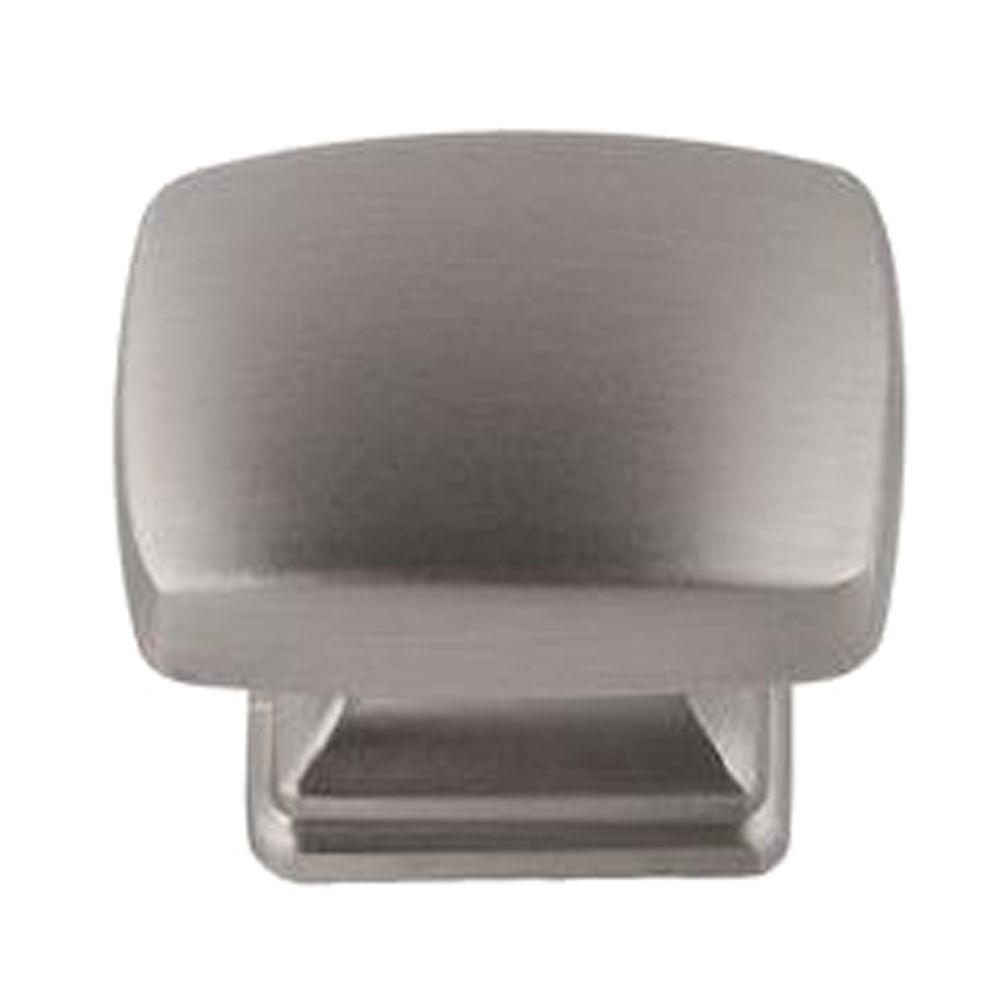 Grayson 1-1/4 in. Satin Nickel Rectangle Cabinet Knob