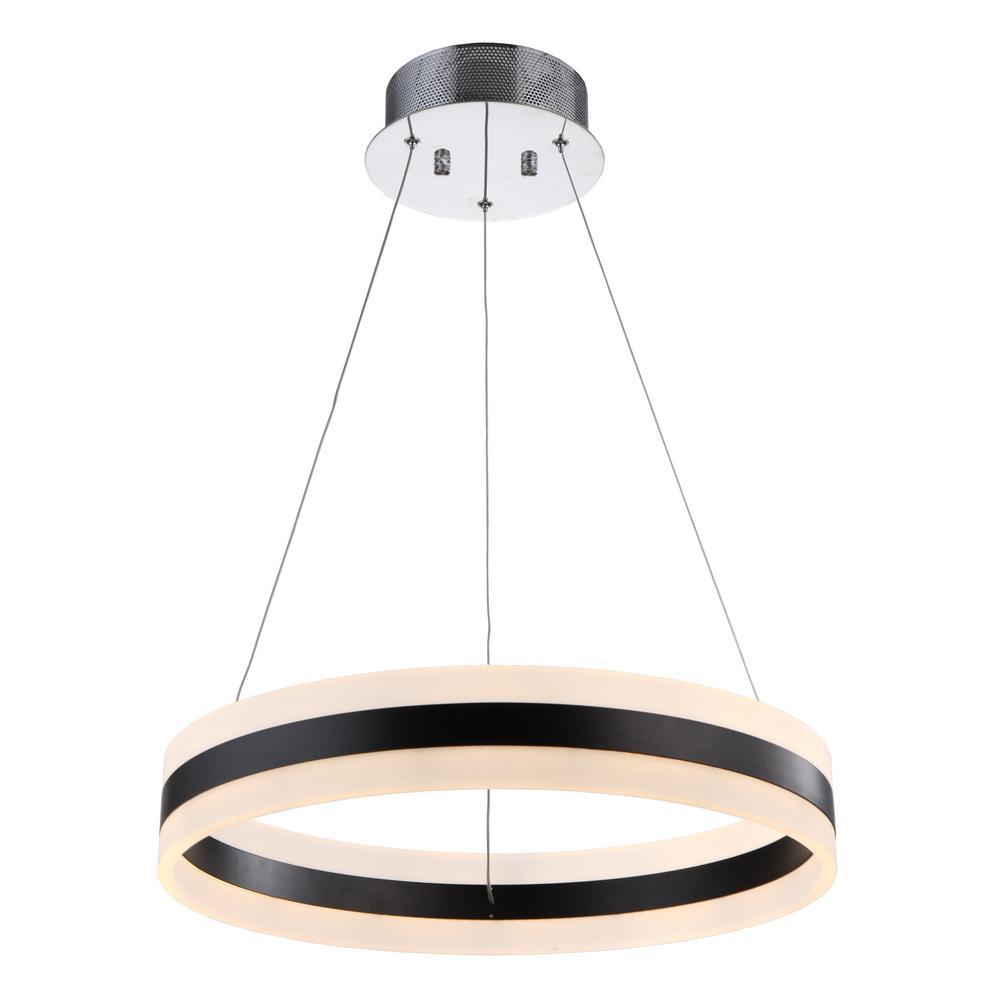 1-Light Chrome Pendant