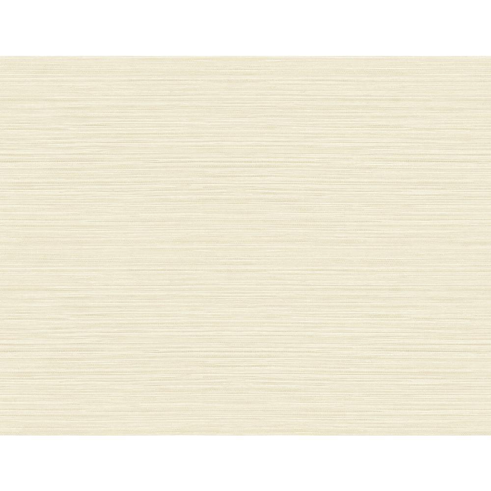 Valley Grasscloth Cream Embossed Vinyl Wallpaper