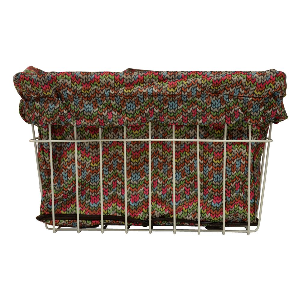 Grandma's Sweater Bicycle Basket Liner