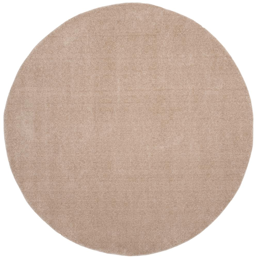 Velvet Soft Rugs In Natural Beige: Safavieh Velvet Shag Light Beige 6 Ft. 7 In. X 6 Ft. 7 In