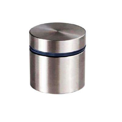 1 in. Dia x 3/4 in. L Stainless Steel Standoffs for Signs (60-Pack)