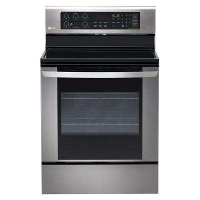 lg electronics manual clean single oven electric ranges rh homedepot com lg electric range manual lg electric range manual