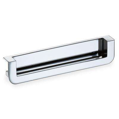 Polished Chrome Recessed Edge Cabinet Pull