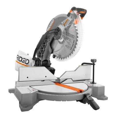15 Amp Corded 12 in. Dual Bevel Miter Saw with LED