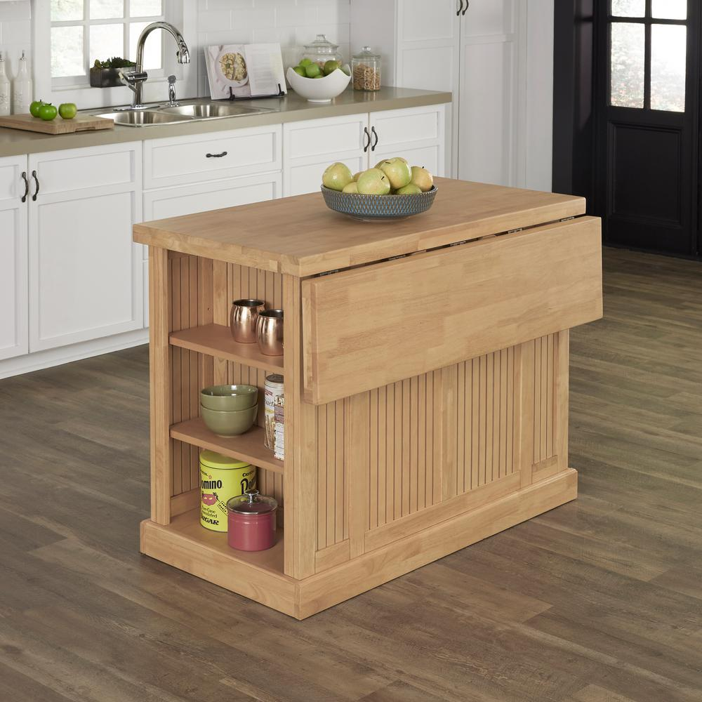 Home Styles Nantucket Maple Kitchen Island With Storage 5055 94 The Home Depot