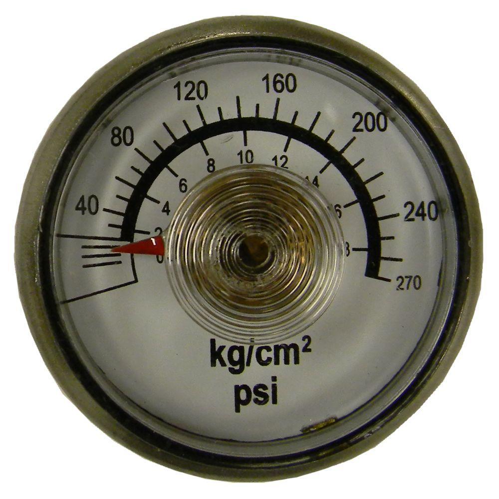 Powermate 270 psi Pressure Gauge