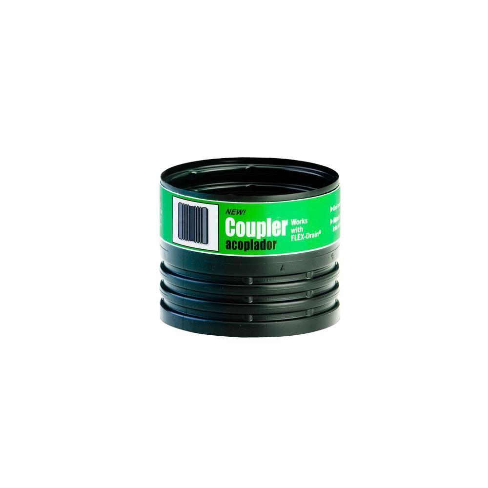 FLEX-Drain 4 in. Polypropylene DWV Coupler