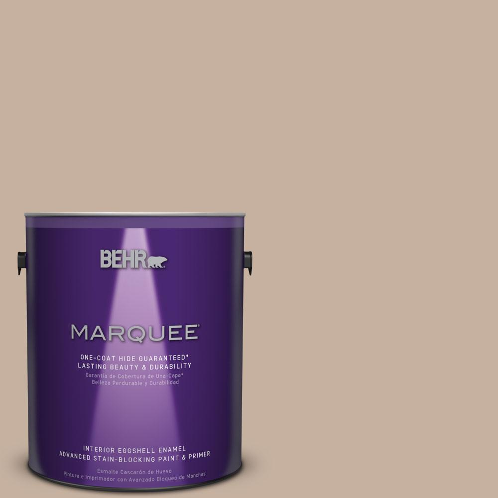 1 gal. #MQ2-32 Mink Haze Eggshell Enamel One-Coat Hide Interior Paint