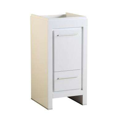 Allier 16 in. Modern Bathroom Vanity Cabinet in White