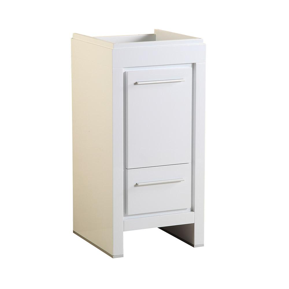 Fresca Allier 16 in. Modern Bathroom Vanity Cabinet in White ...