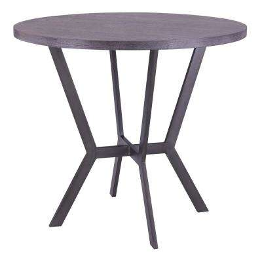 Pike Grey Walnut Bar Table