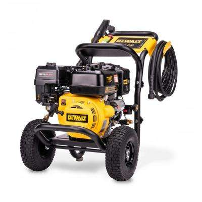 Pressure Ready 3400 PSI at 2.5 GPM Cold Water Gas Pressure Washer with Battery