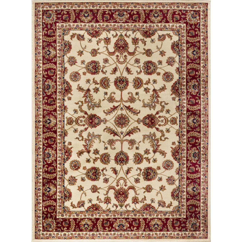 tayse rugs sensation beige 9 ft x 12 ft transitional area rug sns4792 9x12 the home depot. Black Bedroom Furniture Sets. Home Design Ideas