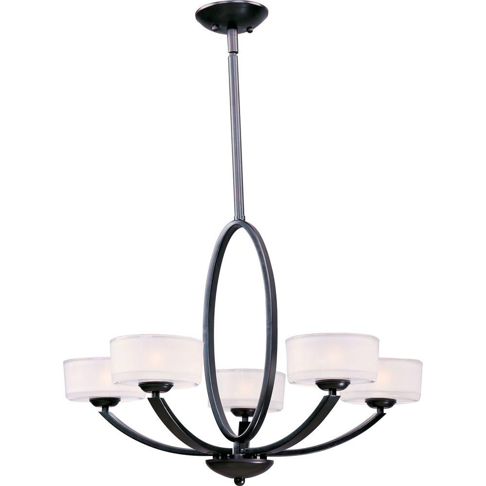 Elle 5-Light Oil-Rubbed Bronze Chandelier