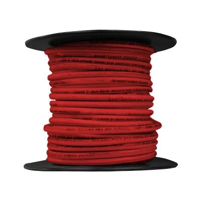 100 ft. 12/19 Red Stranded THHN Wire