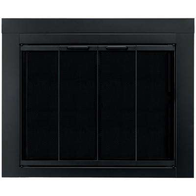 Ascot Large Glass Fireplace Doors