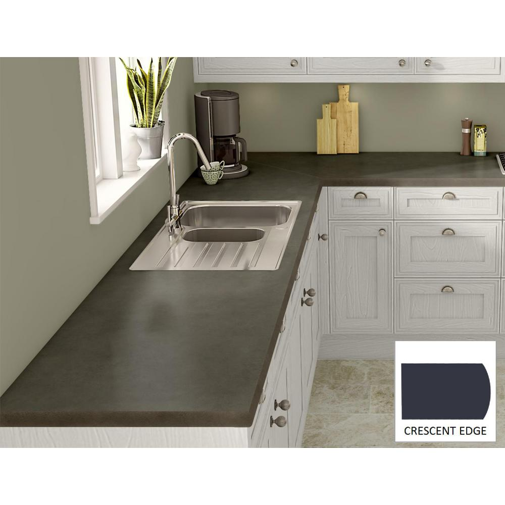Soapstone Laminate Countertops : Wilsonart green soapstone laminate custom crescent edge c