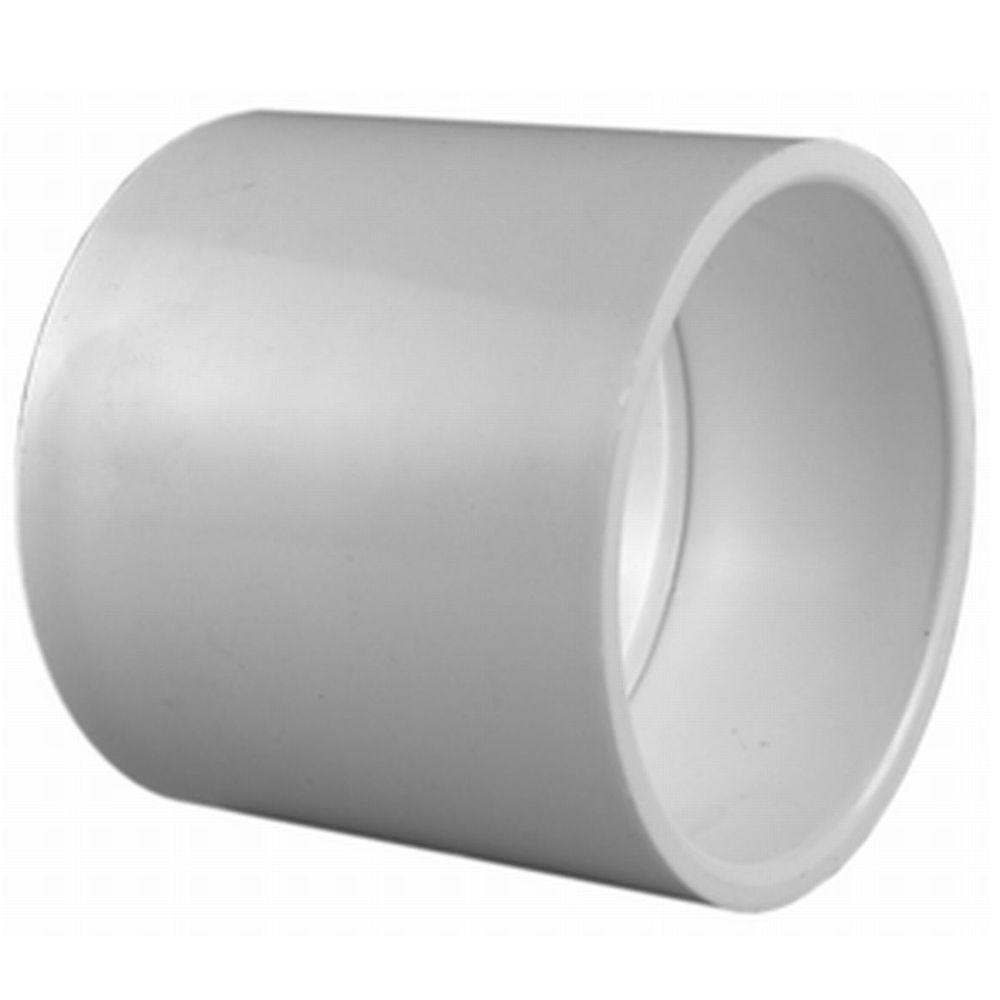 Charlotte Pipe 1 2 In Pvc Sch 40 S X S Coupling