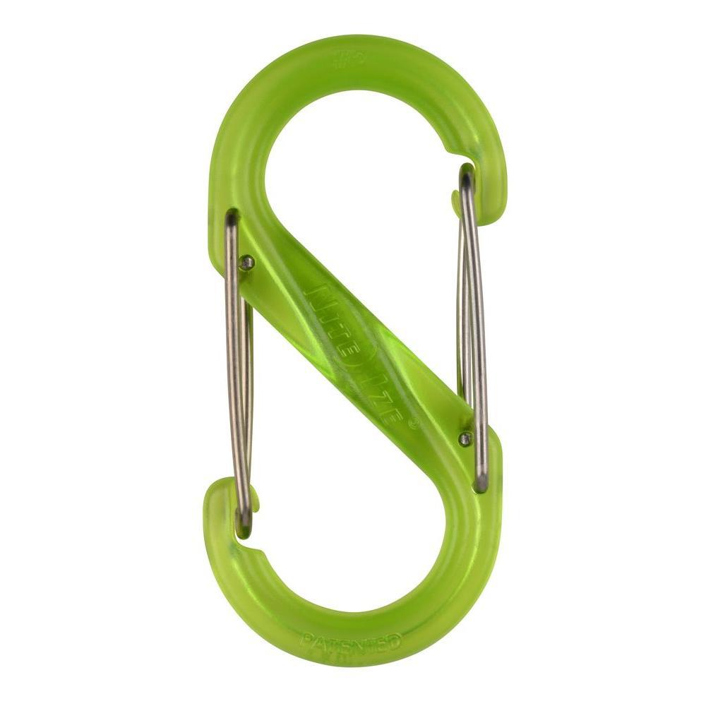#2 Green Plastic S-Biner